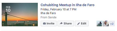 Cohubiting meetup